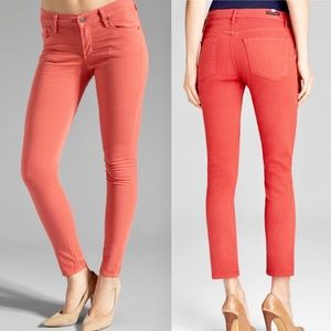 Citizens of Humanity Jeans Washed Orange Stretchy